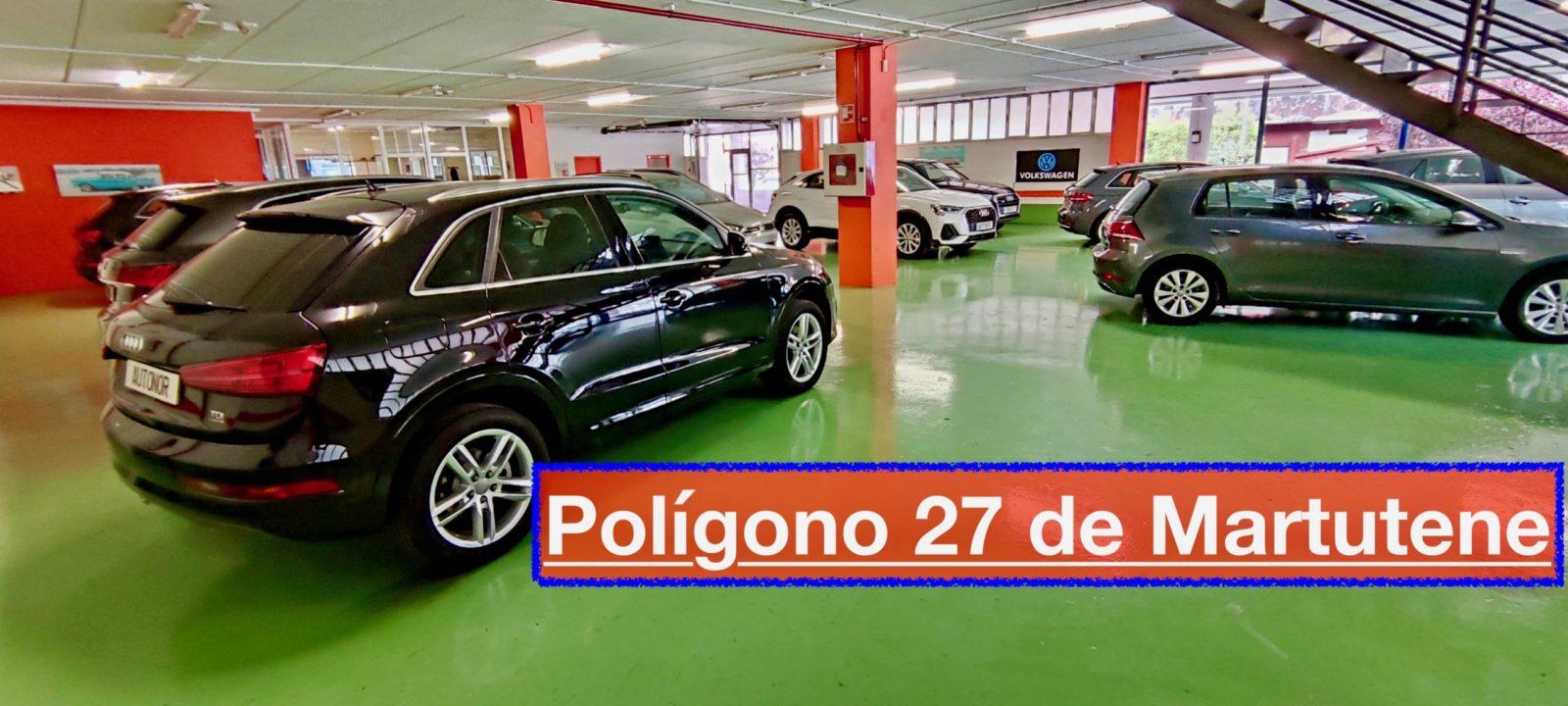 Donostia San Sebastián Autonor Venta de vehículos Km. 0 y de ocasión. AUDI - VOLKSWAGEN Tel 943 45 15 18 Paseo de Ubarburu, 30, Polígono 27 de Martutene