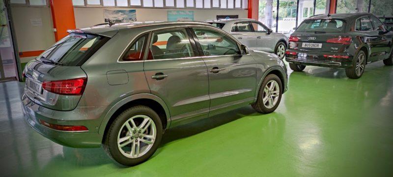 Audi Q 3 TDI 35 Donostia San Sebastián Autonor Venta de vehículos Km. 0 y de ocasión. AUDI - VOLKSWAGEN Tel 943 45 15 18 Paseo de Ubarburu, 30, Polígono 27 de Martutene